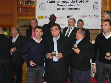 GALA ENTREGA DE PREMIOS TEMPORADA 2013